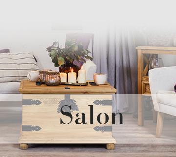 Meble z drewna do salonu